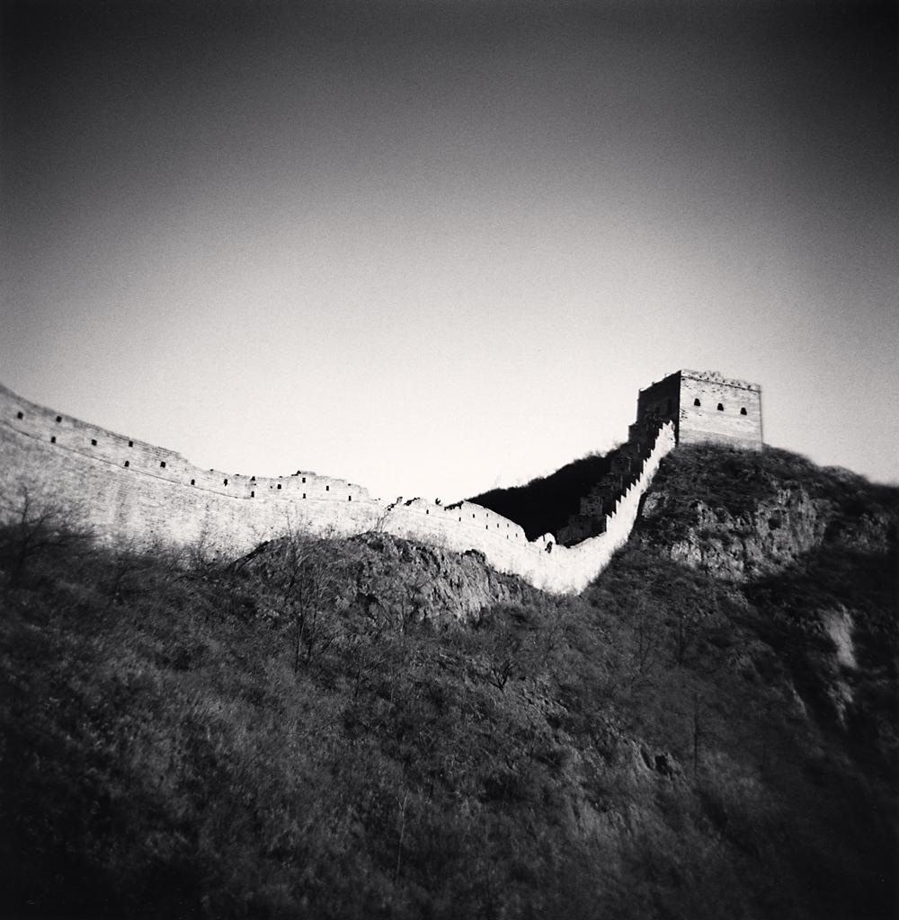 Michael Kenna, Si Ma Tai Great Wall, Study 2, Beijing, China. 2007