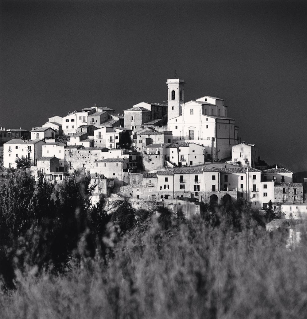 Michael Kenna, Sunbreak, Altino, Abruzzo, Italy, 2016