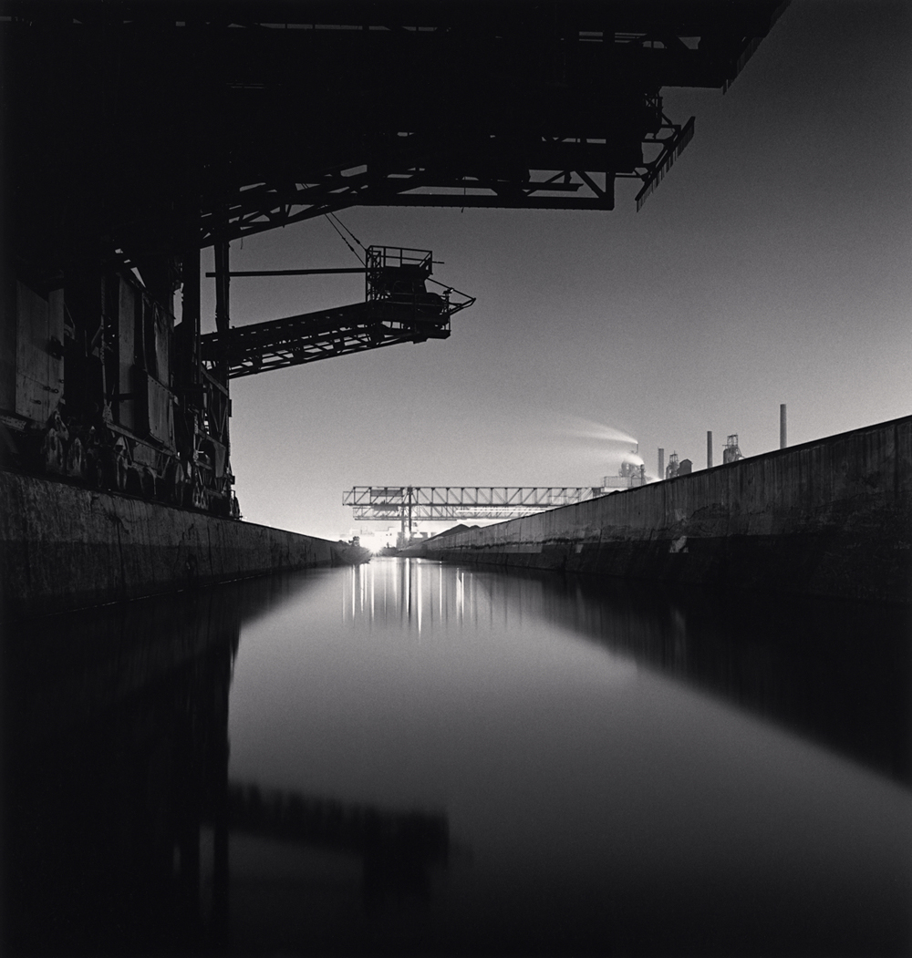 Michael Kenna, The Rouge, Study 16, Dearborn, Michigan, USA. 1993
