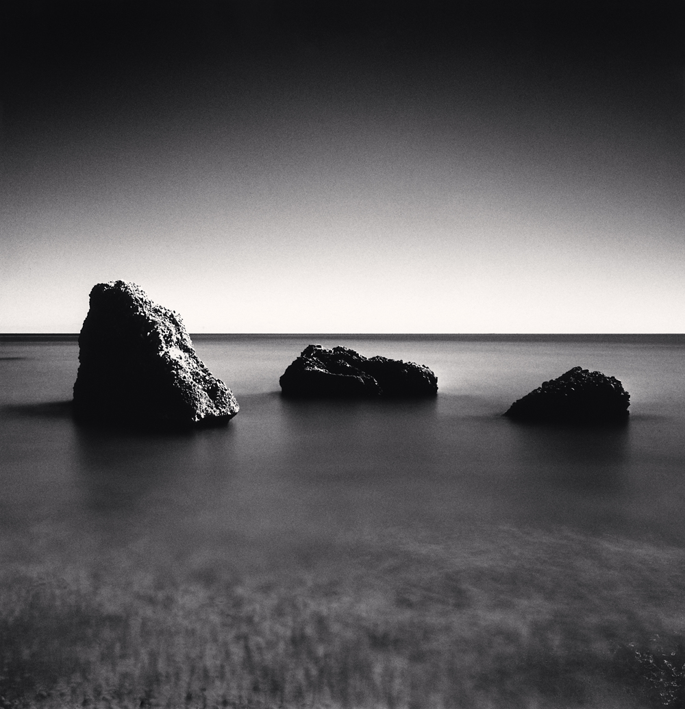 Michael Kenna, Three Rocks, Canale Beach, Vasto, Abruzzo, Italy, 2016