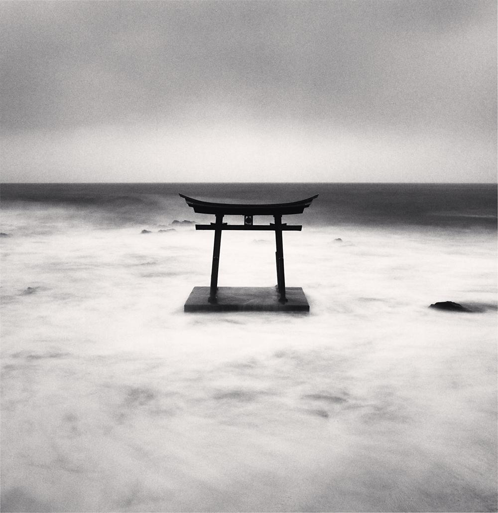 Michael Kenna, Torii Gate, Study 4, Shosanbetsu, Hokkaido, Japan, 2014