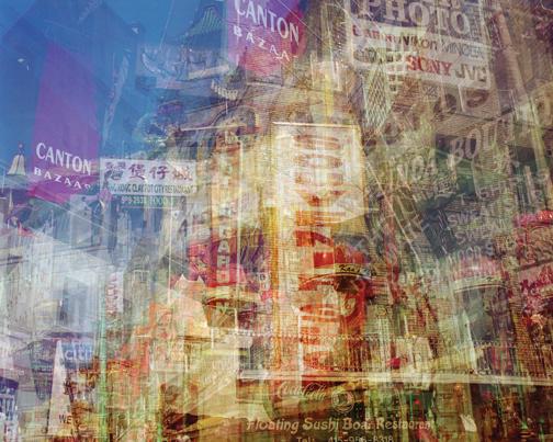 Doug Keyes, Chinatown, San Francisco, 2004