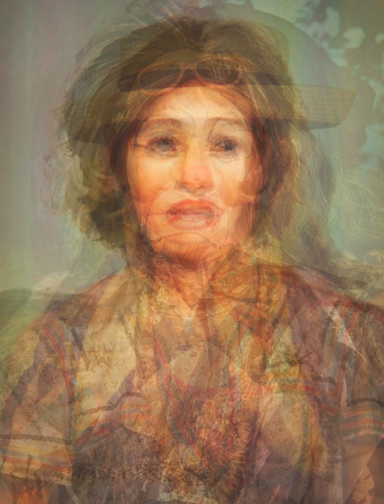 Doug Keyes, Cindy Sherman, 2014, archival pigment print, edition of 7, 21 x 16 inches, price on request