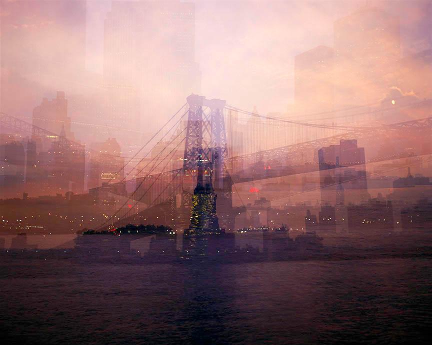 Doug Keyes, Harbor Lights, New York, 2007