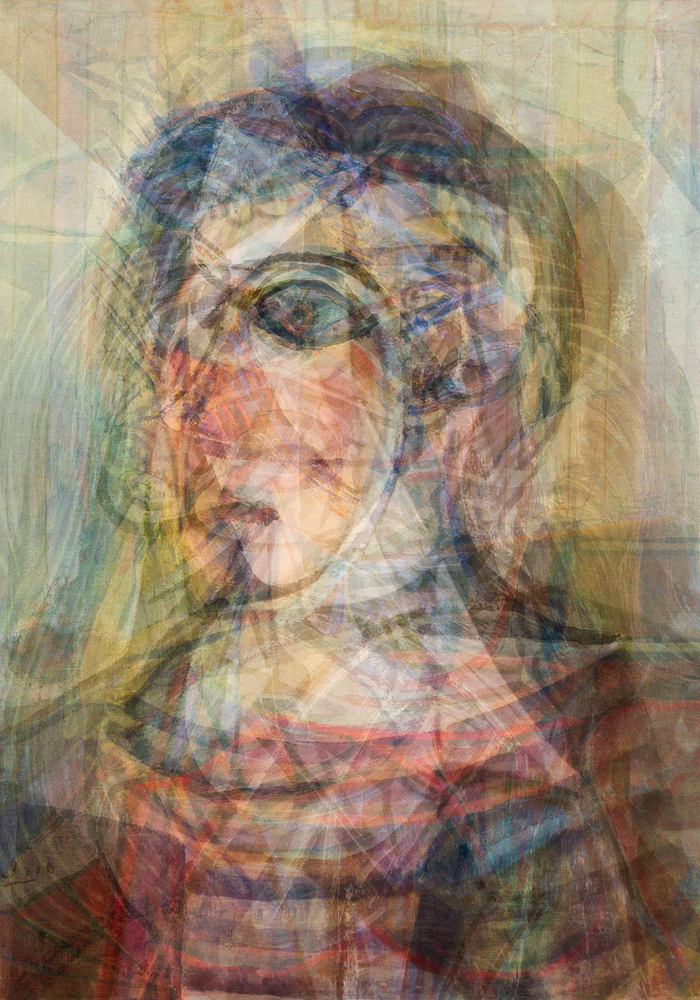 Doug Keyes, Picasso, 2014, archival pigment prints, edition of 7, 20 x 14 inches, price on request