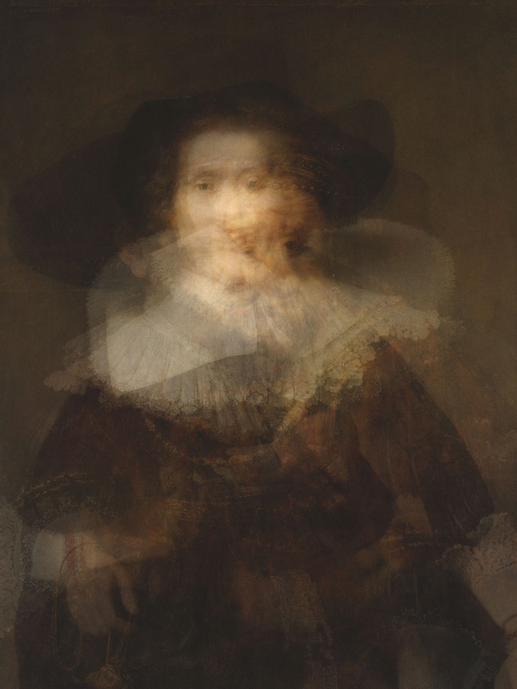 Doug Keyes, Rembrandt, 2014, archival pigment print, edition of 7, 24 x 18 inches, face mounted to plex, price on request