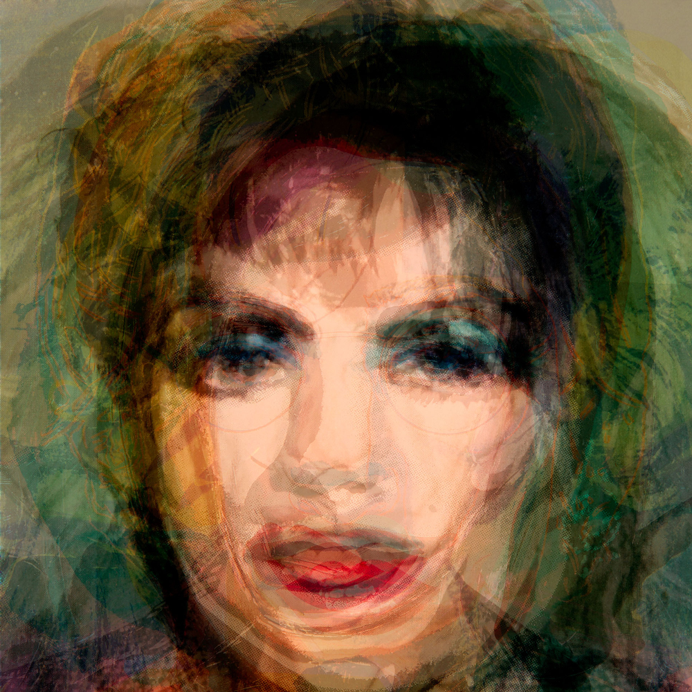 Doug Keyes, Warhol, 2012, archival pigment print, edition of 7, 32 x 32 inches, face mounted to plex, price on request