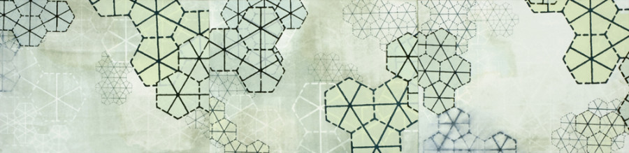Amanda Knowles, Sequent X-XII, 2008, mixed media on paper, 11 x 45 inches, $1200.