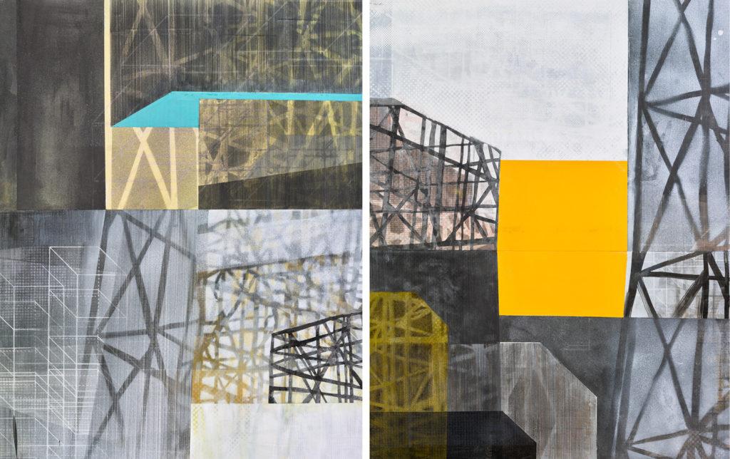 Amanda Knowles, Untitled (construct) V-VI, 2018