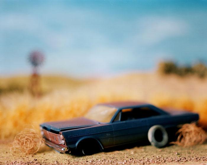 Lori Nix, Abandoned Car, 1998