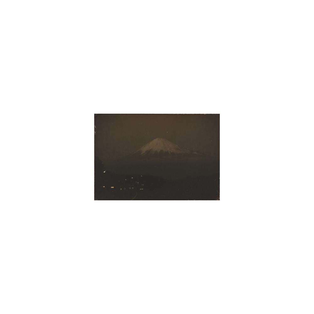 Masao Yamamoto, Mt. Fuji, toned gelatin silver print, 2 x 1.25 inches, price on request