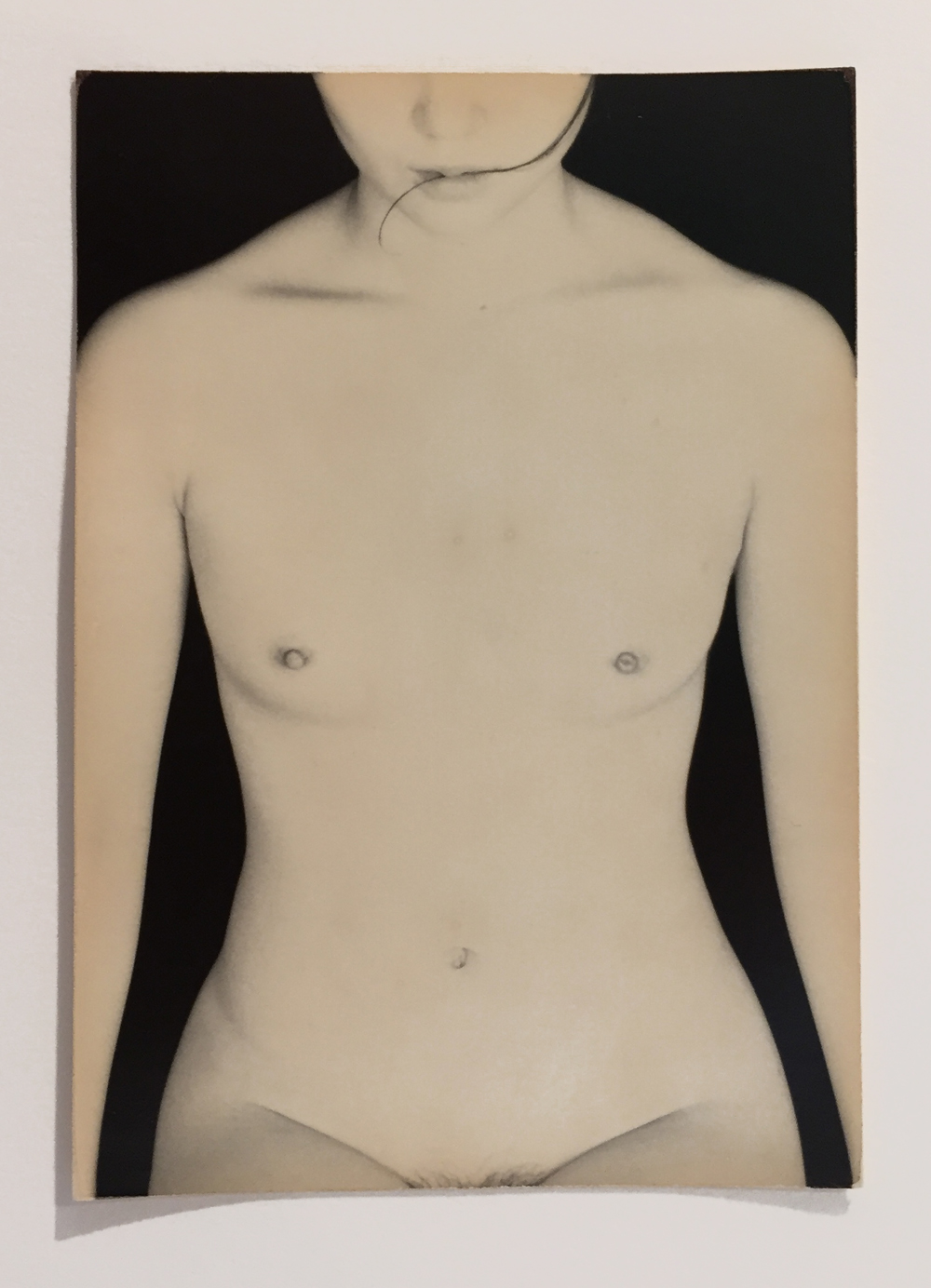 Masao Yamamoto, Untitled Nude, toned gelatin silver print, 4.75 x 3.25 inches, price on request