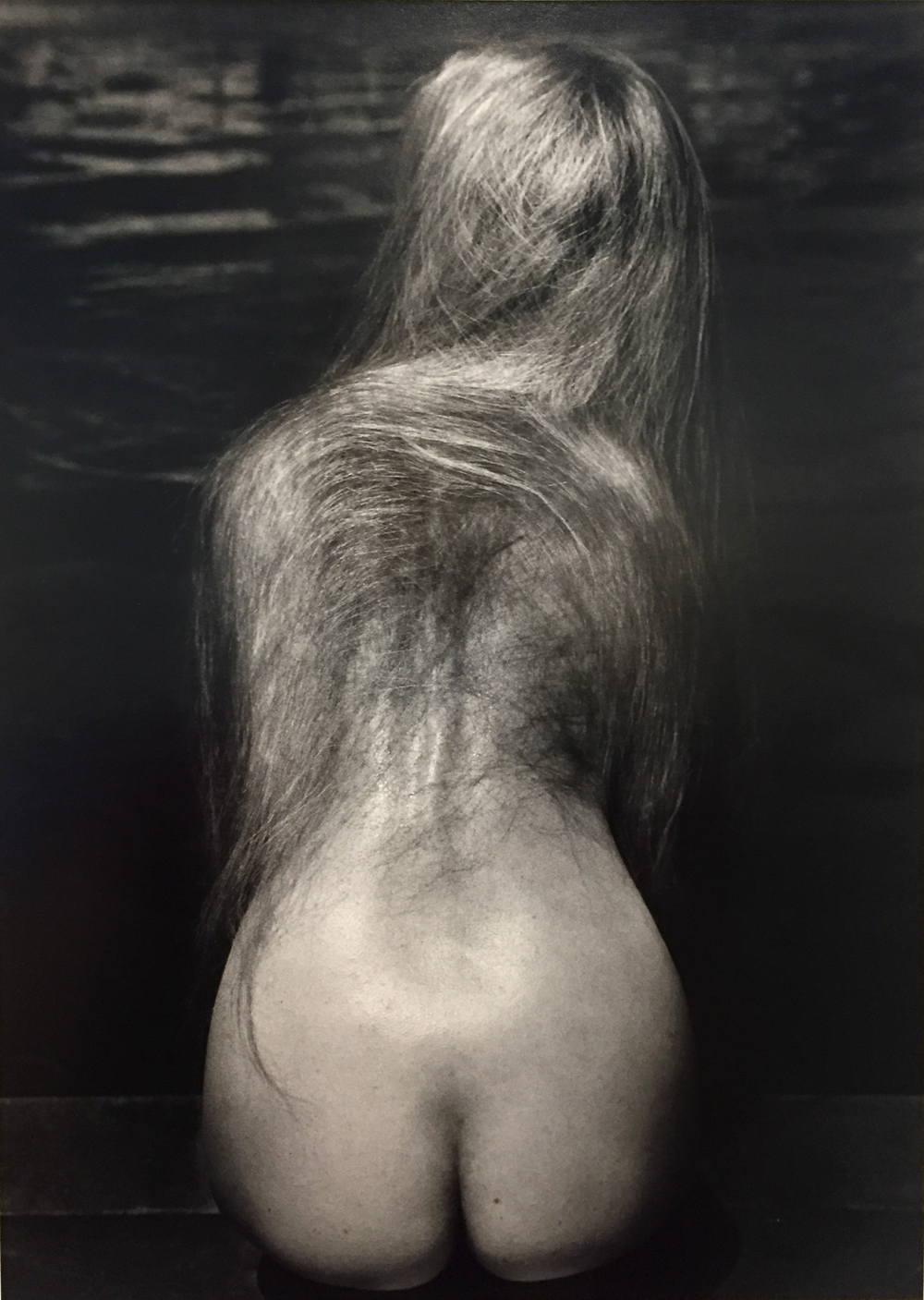 Ruth Bernhard, At the Pool, 1951, toned gelatin silver print, 13.5 x 9.75 inches, signed by artist, price on request