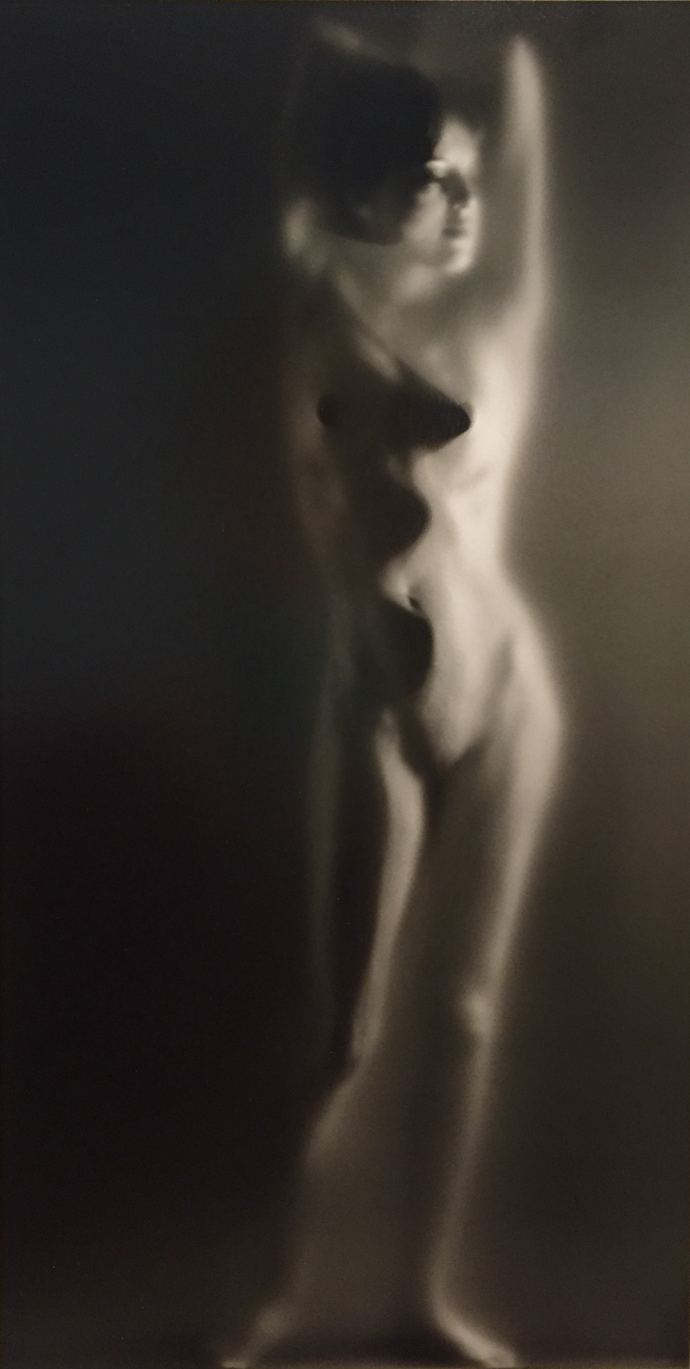 Ruth Bernhard, Luminous Body, 1962, toned gelatin silver print, 13.25 x 6.75 inches, signed by artist, price on request