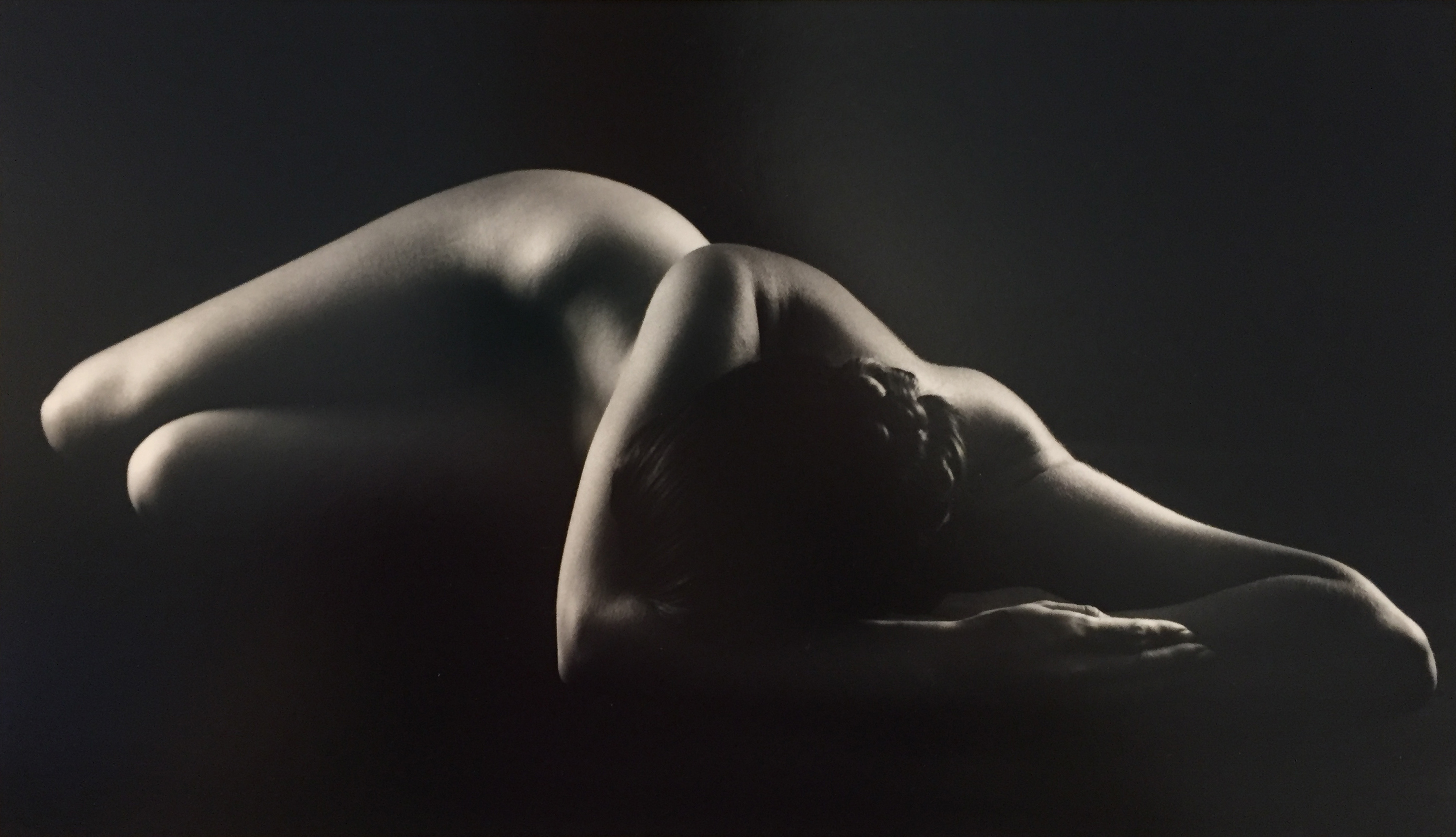 Ruth Bernhard, Perspective II, 1967, toned gelatin silver print, 8 x 13.75 inches, signed by artist, $12,000.