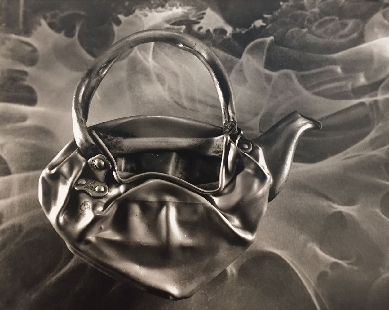 Ruth Bernhard, Teapot, 1976, toned gelatin silver print, 10.5 x 13 inches, signed by artist, price on request