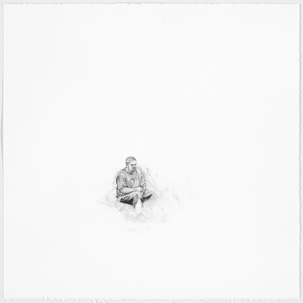 Samantha Scherer, Alive And OK, 2014, 11 x11 inches, framed, $600.