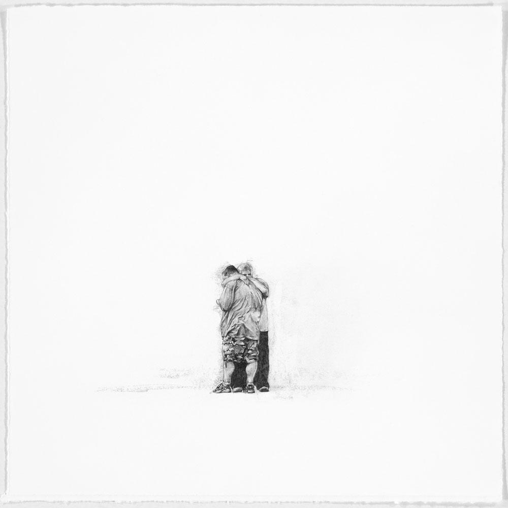 Samantha Scherer, OK Alive, 2014, 11 x 11 inches, framed, $600.