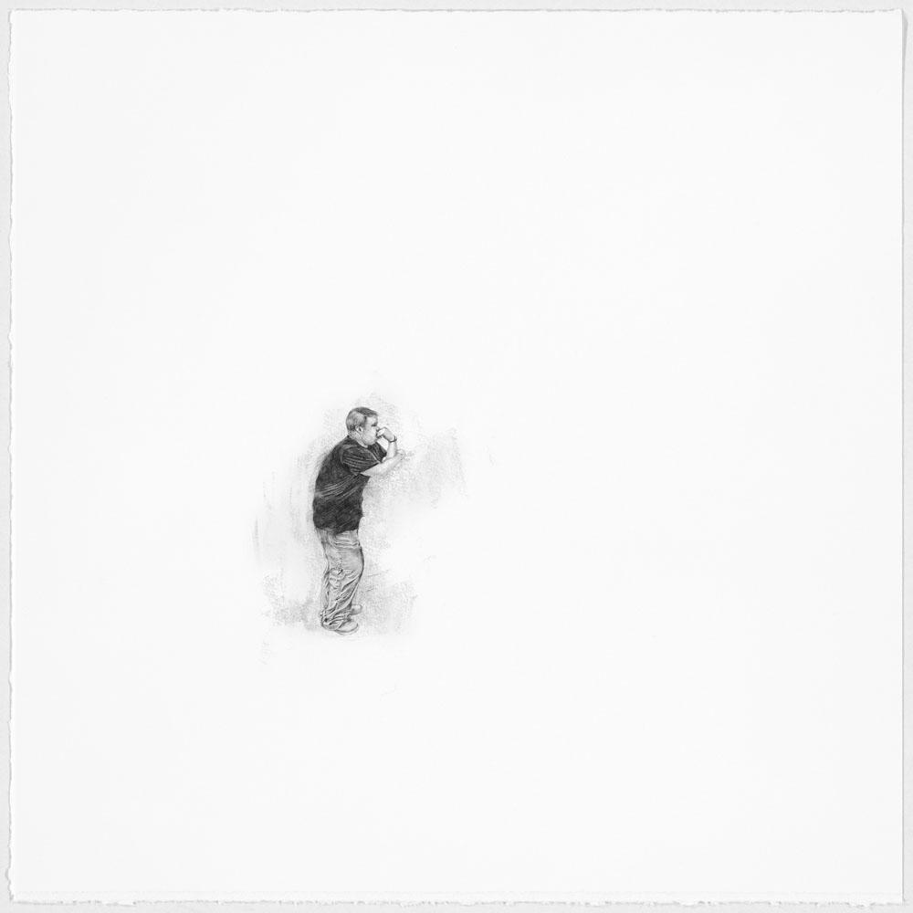 Samantha Scherer, We'll Be Okay, 2014, 11 x 11 inches, framed, $600.