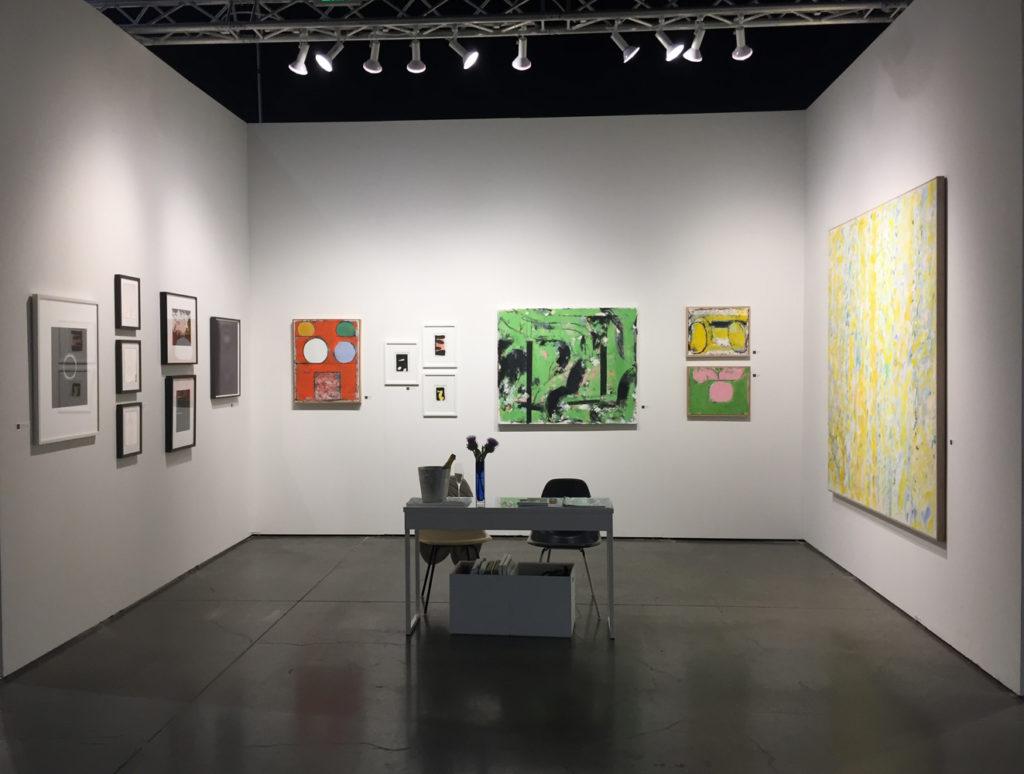 Seattle Art Fair G. Gibson Booth
