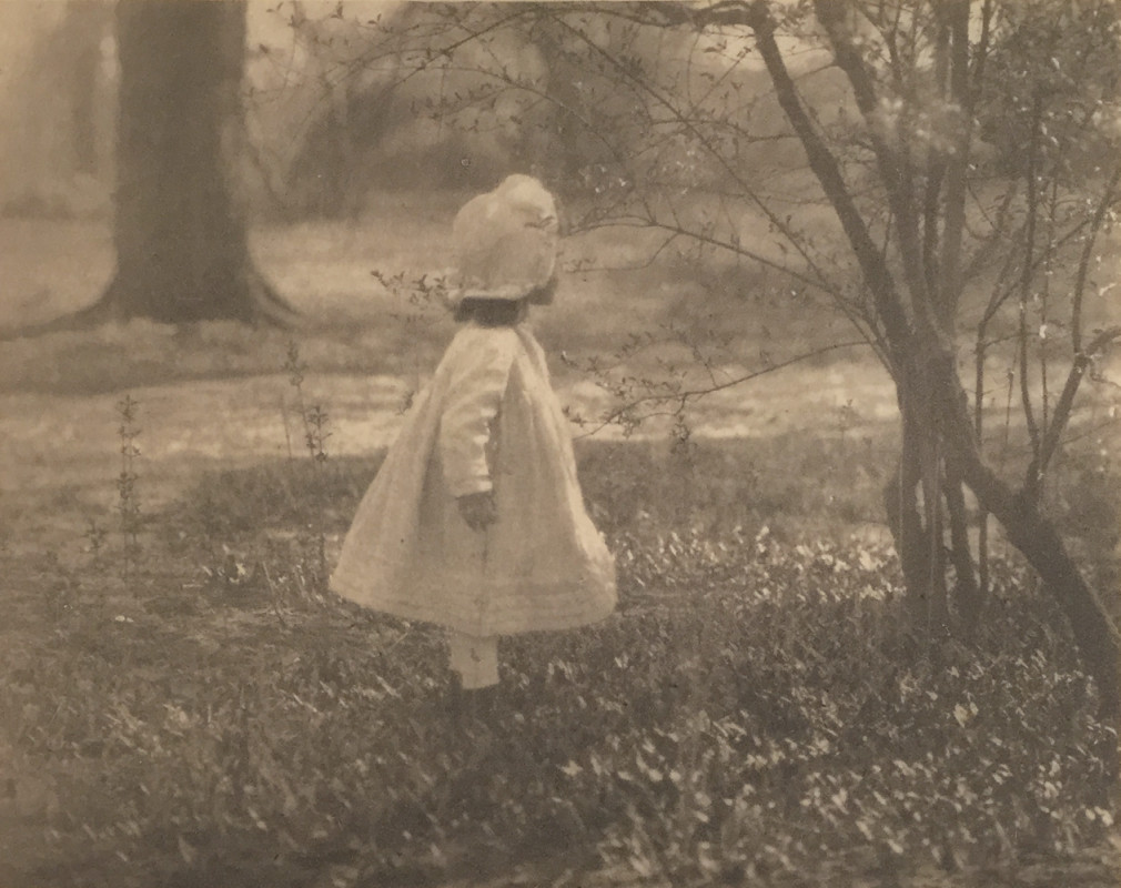 Alfred Stieglitz, Spring, (1901), October 1905, 12:11, photogravure, 15.7 x 12.5 cm, price on request