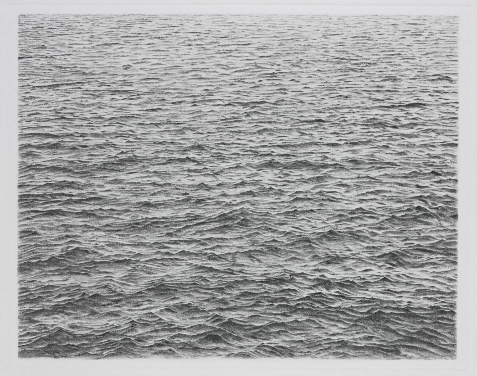 Vija Celmins, Ocean, 1983 (SOLD)