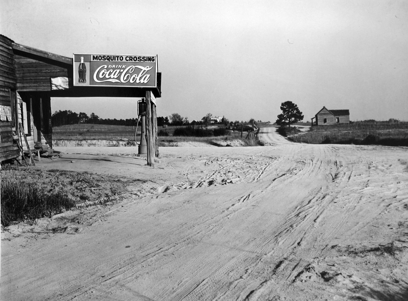 Marion Post Wolcott, Mosquito Crossing, GA, 1939, gelatin silver print, 11 x 14 inches