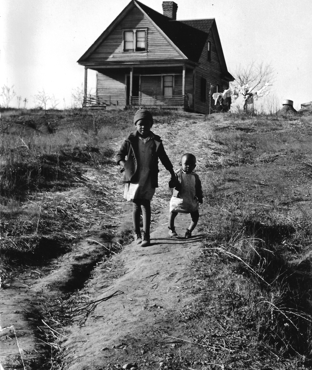 Marion Post Wolcott, Tenant Farmer's Children, Rickets, NC, 1938 gelatin silver print, 11 x 14 inches, signed by artist, $4000.