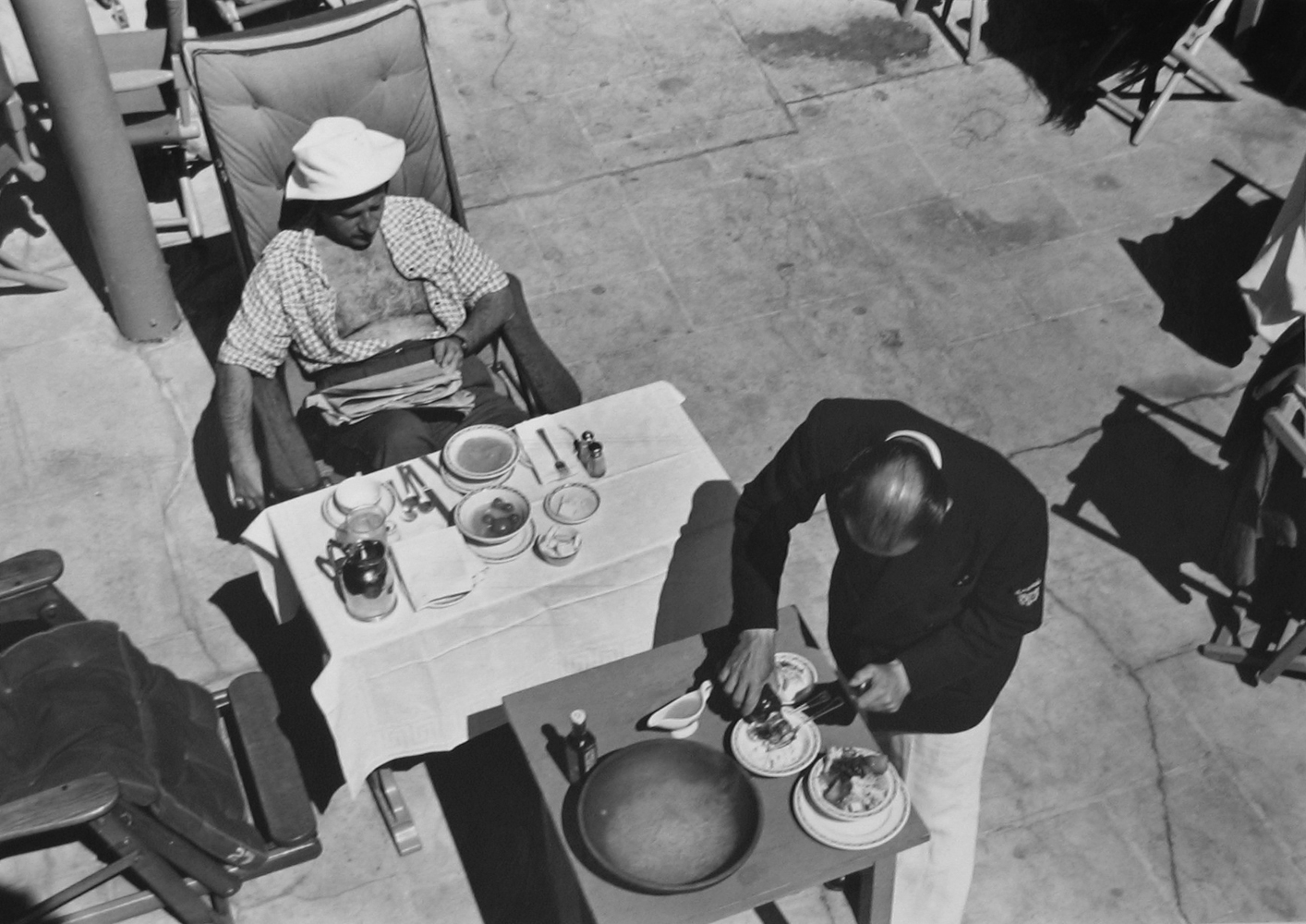 Marion Post Wolcott, Winter Visitor, Brunch, FL, 1939 gelatin silver print, 11 x 14 inches