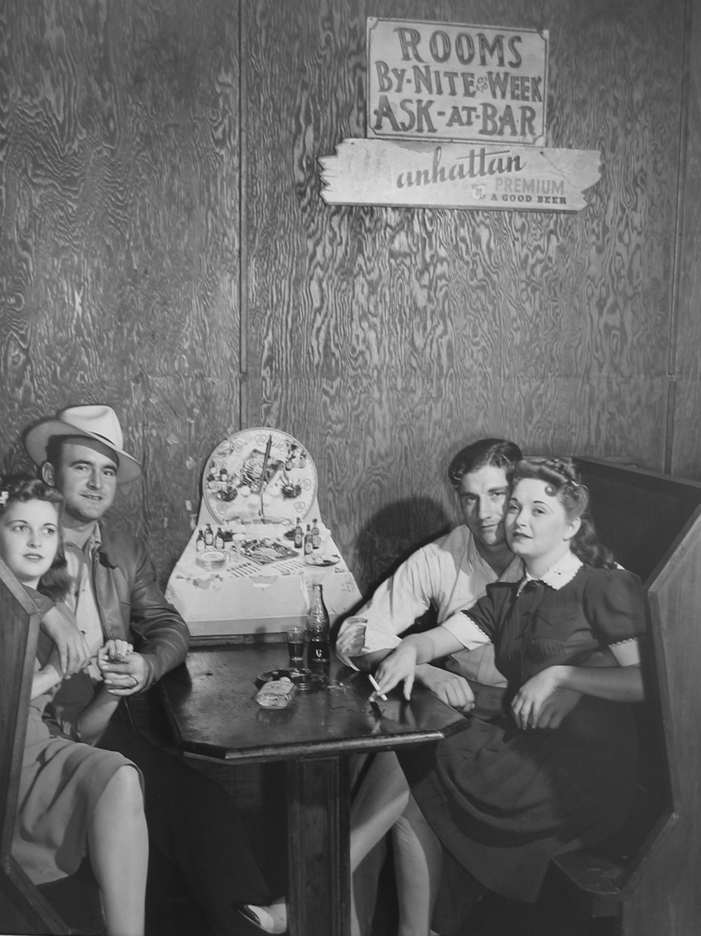 Marion Post Wolcott, Two Couples in a Juke Joint, FL, 1939 gelatin silver print, 16 x 20 inches