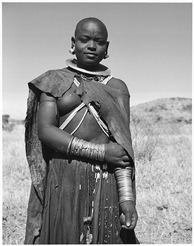 Hector Acebes, Maasai Woman, Tanzania, 1953