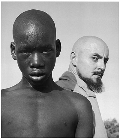 Hector Acebes, Unidentified Boy and Hector Acebes, West Africa, 1953