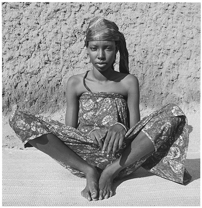Hector Acebes, Unidentified Girl, Cameroon, 1953
