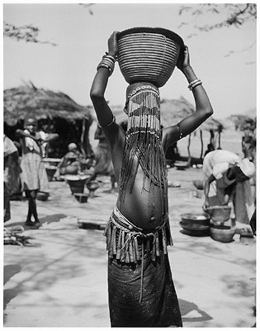 Hector Acebes, Unidentified Girl, Chad, 1949
