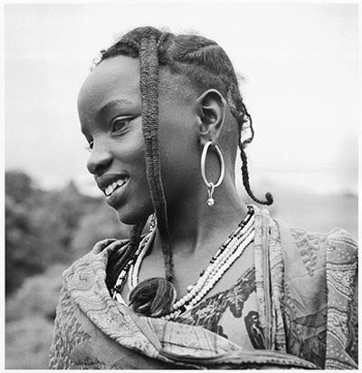 Hector Acebes, Unidentified Girl, Nigeria, 1953