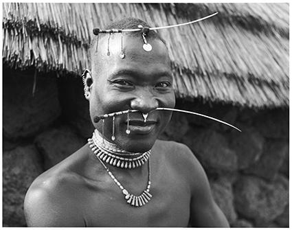 Hector Acebes, Bassari Man, Guinea, 1953