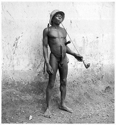 Hector Acebes, Unidentified Man, Benin, 1953