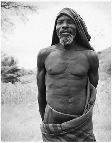 Hector Acebes, Unidentified Man, Central Africa, 1953