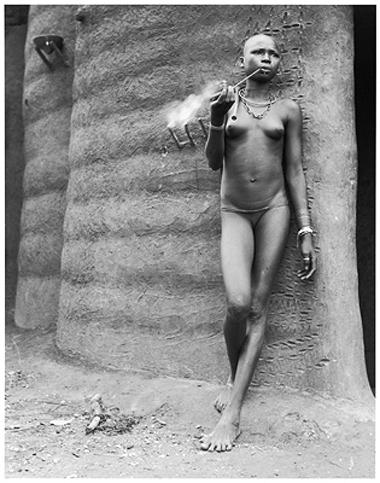Hector Acebes, Unidentified Woman, Benin, 1953