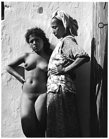 Hector Acebes, Casablanca Red-Light District, Morocco, 1948