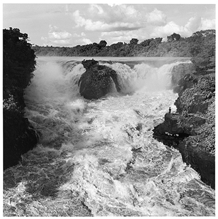 Hector Acebes, Congo River, Central Africa, 1953