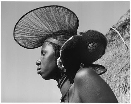 Hector Acebes, Foula Woman, Guinea, 1953