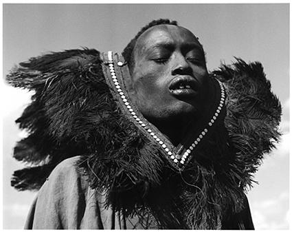 Hector Acebes, Maasai Man, Tanzania, 1953