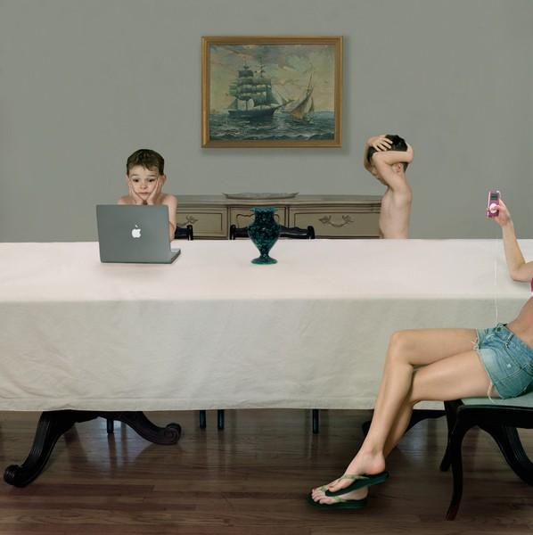 Julie Blackmon, Babysitter, 2006