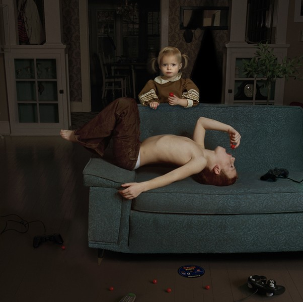 Julie Blackmon, Cherry, 2006