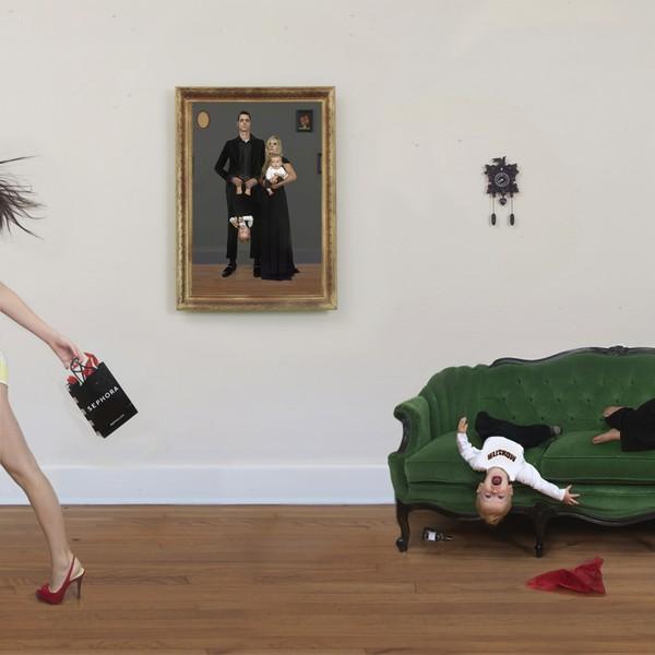 Julie Blackmon, Family Portrait, 2007