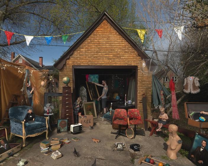 Julie Blackmon, Garage Sale, 2013