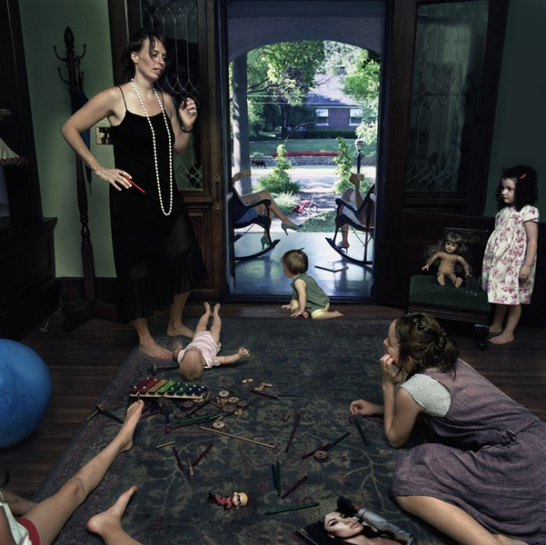Julie Blackmon, Play Group, 2005