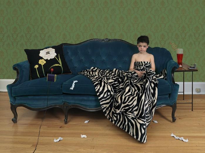 Julie Blackmon, Sick Boy, 2008