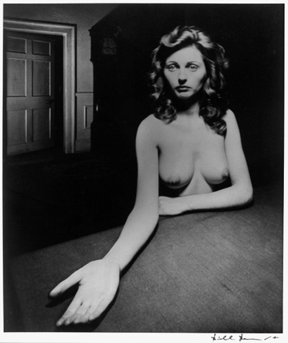 Bill Brandt, Micheldever (Nude), Hampshire, 1948